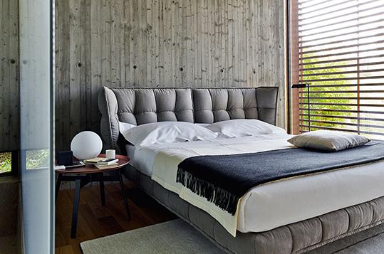 B b letto husk arredamento casa design patricia urquiola for Outlet arredamento casa