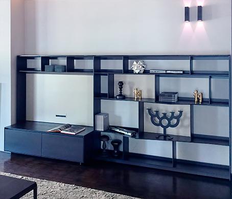 B b flat c librerie sistemi design antonio citterio for Outlet arredamento casa