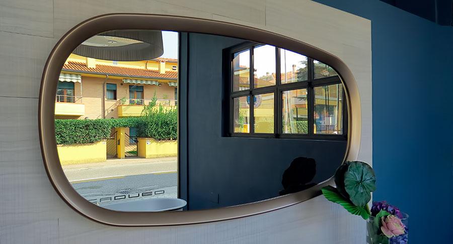 B b italia madison specchio design monica armani shop - Armani casa prezzi ...