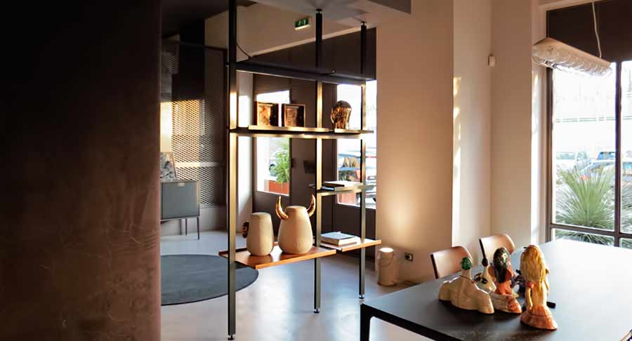 Boffi brompton scaffalatura vednuto for Librerie design outlet