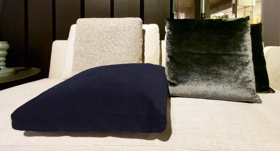 B B Sofa Cushions In Samara Velvet 30 Discount Shop