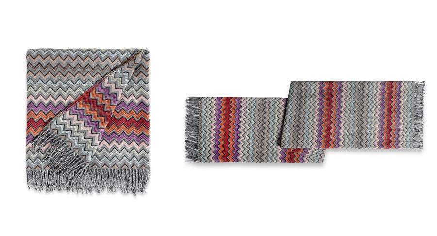 Missoni Home: William Plaid