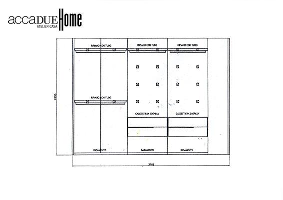 Tisettanta centopercento sistema cabina armadio - Appendiabiti per cabina armadio ...