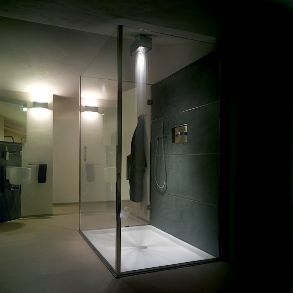 Viabizzuno cubo doccia - Luci per doccia ...
