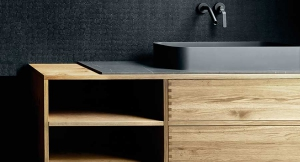 Boffi wooden mobile bathroom | Outlet Arredamento casa