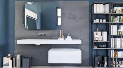 Boffi flyer bathroom furniture design c r s boffi shop for Mobili outlet design
